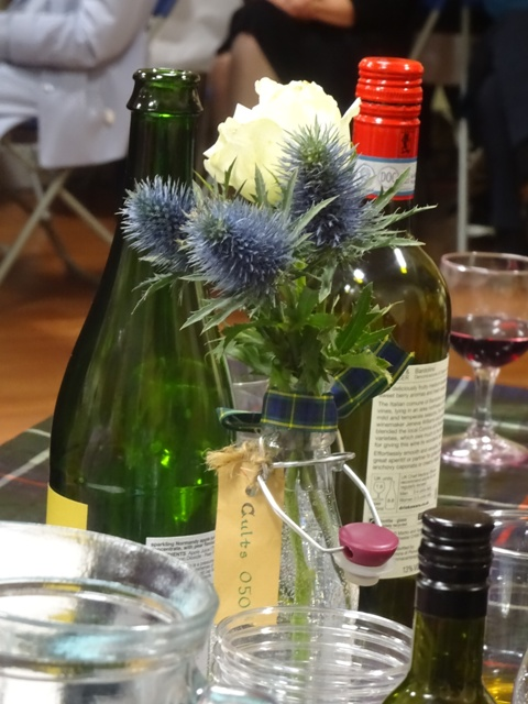 Scottish Table Decoration