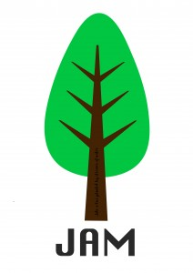 JAM logo mock-up