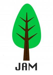 JAM logo mock-up